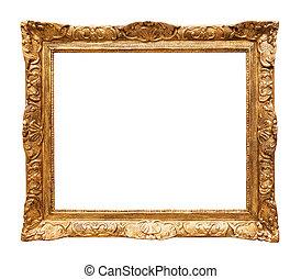 Luxury gilded mirror frame
