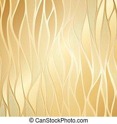 Luxury golden floral wallpaper