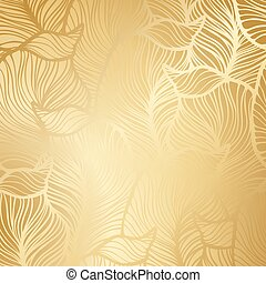 Luxury golden floral wallpaper - Luxury golden wallpaper....