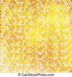 Luxury golden pattern with mixed small spots texture