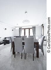Luxury gray interior
