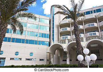 Luxury hotel at Rhodes island, Greece