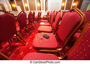 Luxury hotel conference room - Multy Language headphones...