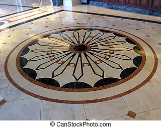 Luxury Hotel Floor Decoration, San Diego