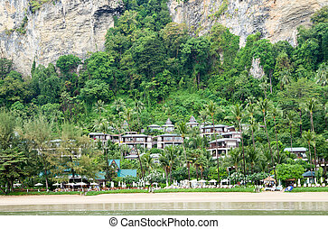 hotel in the rock