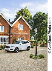 Luxury house and car UK