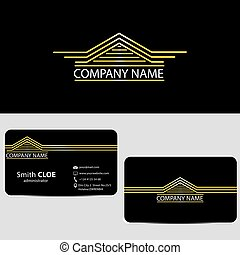 Luxury House Logo and Business Card