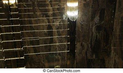 Luxury Interior Stairs - Luxury interior stairs marble walls...
