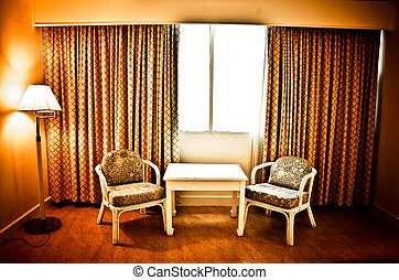 Luxury interior.(Guest house)