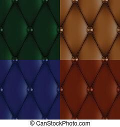 luxury leather upholstery