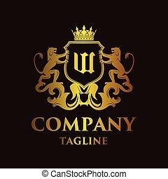 luxury Letter 'W' Logo
