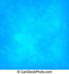 Luxury light blue crystal facet background