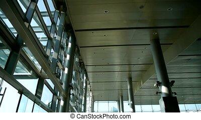 Luxury mall glass...