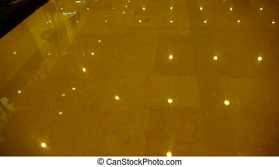 Luxury mall hall, Bright light.
