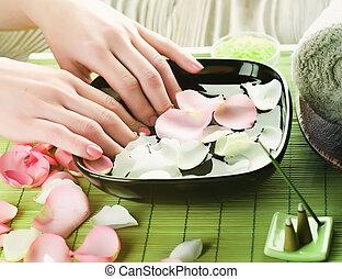 Luxury Manicure Concept