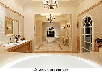 Luxury Master Bathroom - Modern contemporary style master...