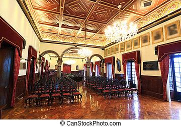 luxury meeting hall in macau