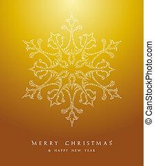 Luxury Merry Christmas snowflake background EPS10 vector file.