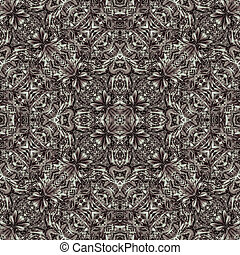 Luxury Modern Baroque Seamless Pattern
