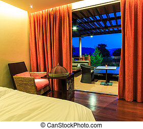luxury modern style bedroom
