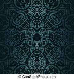 Luxury ornamental vintage Premium background . dark color