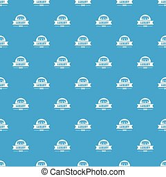Luxury pattern vector seamless blue