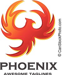 luxury phoenix logo