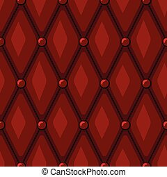 Luxury Red Leather