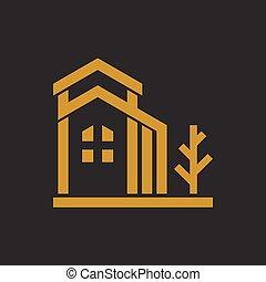 Luxury Residence Tree Gold