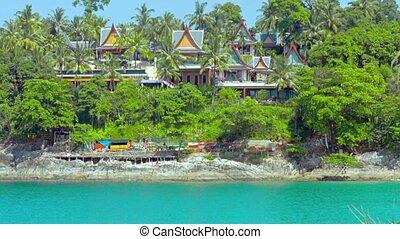 Luxury Resort Tucked Away Behind Treeline in Thailand -...