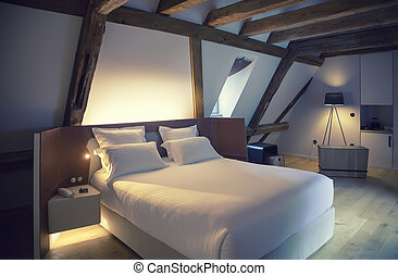 luxury room in hotel