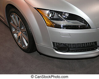 Luxury Sports Car Fender 3 - Concept Luxury Car Wheel & ...