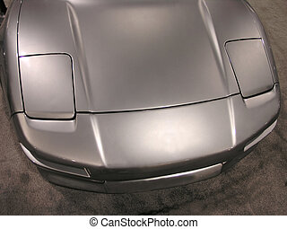 Luxury Sports Car Front 4
