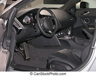 Luxury Sports Car Interior 1 - Luxury Sports car Interior...