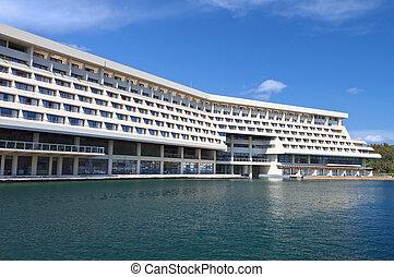 Luxury summer hotel in Greece