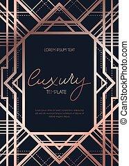 Luxury template design