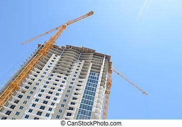 Luxury Tower Under Construction