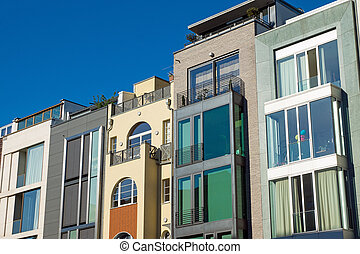 Luxury townhouses