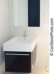 wash basin - Luxury wash basin in a bathroom, an interior...