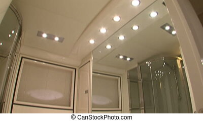 Luxury yacht bathroom