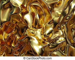 Luxury?Liquid?Gold Marbling?Texture