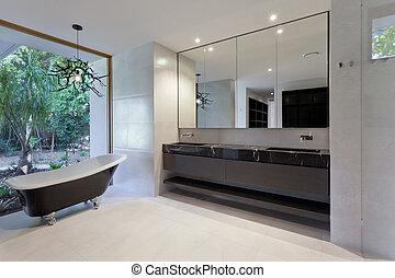 luxus, badezimmer