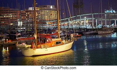 luxus, segelboot