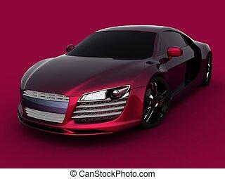 luxusauto, modell