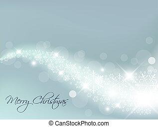 luz azul, abstratos, natal, fundo