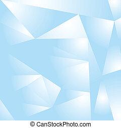 luz azul, diseño abstracto, hola-hi-tech