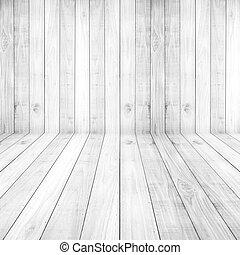 luz, blanco, pisos, madera, tablones, textura, plano de...