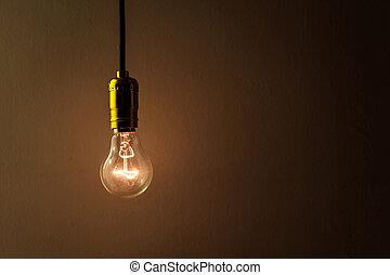 luz, bombilla
