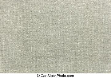luz, cáqui, algodão, textura, closeup