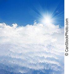 luz, céu